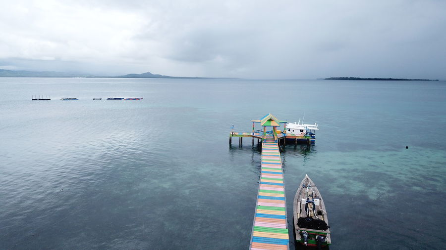 Koloray/Kolorai Island, Morotai Island Regency, North Maluku (Mollucas) Aerial Shot DJI Mavic Pro DJI X Eyeem Drone  INDONESIA Aerial View Beach Beauty In Nature Cloud - Sky Day Dji Horizon Over Water Island Maluku  Maluku Utara Mavic Pro Mode Of Transport Morotai  Morotaiisland Nature Nautical Vessel No People Outdoors Scenics Sea Sky Tranquility Transportation Water
