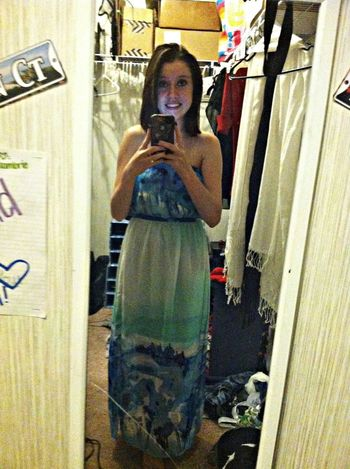 Dress for daddy's wedding