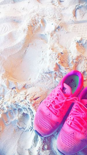 ❤️☀️☀️ Sunny Sun Fun Nike Trainers Sneakers Beach Sand Bahamas Cococay Island Cruise Bahamas Cococay Private Island