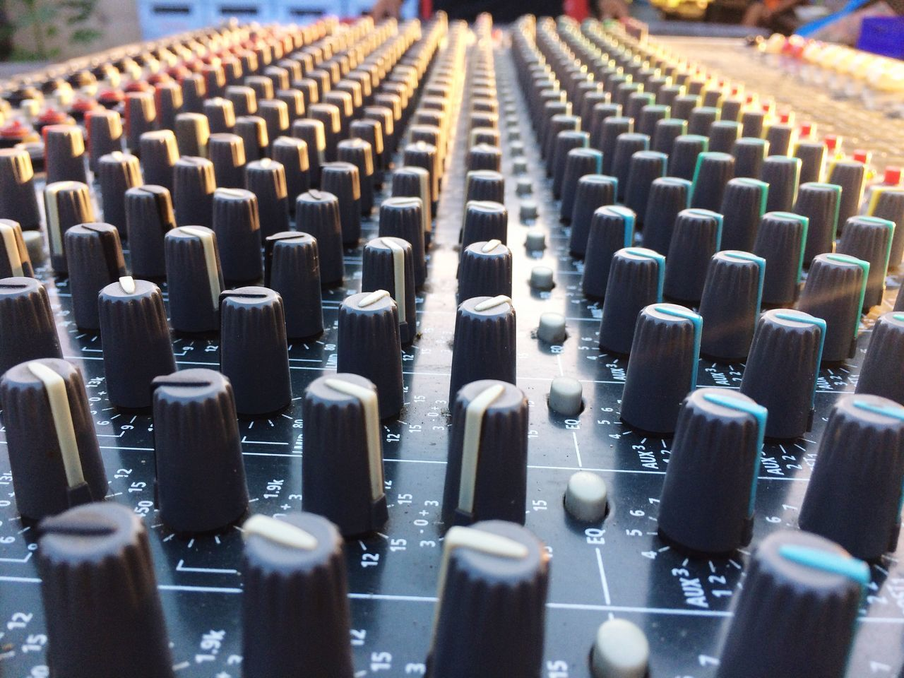 music, in a row, sound mixer, arts culture and entertainment, mixing, indoors, sound recording equipment, recording studio, musical instrument, technology, day, no people, close-up