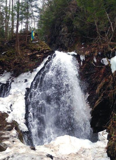 Waterfall Waterfalls Waterfall_collection Karpaty Карпаты водопад 18 м Carpathians Carpathian Mountains