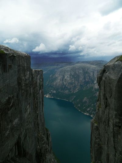 Beauty In Nature Sky Nature Power In Nature Travel Kjeragbolten Norway Kjerag