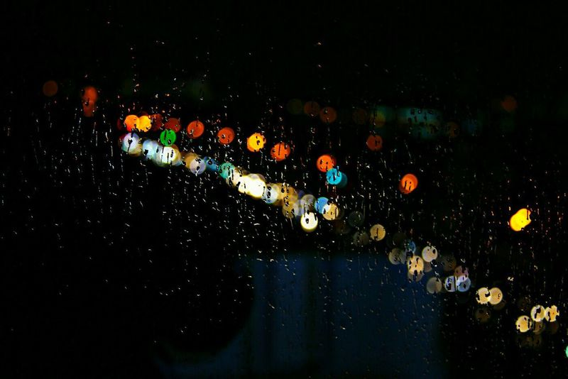 казань КФУ капли дождя Дождь осень Погода Стекло Машины фонари светофор огни Night Multi Colored Transportation Sky No People Wet Illuminated Nature Outdoors Technology Water Star - Space First Eyeem Photo