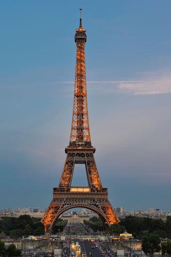 Eiffel Tower Paris Paris, France  Architecture Building Building Exterior Built Structure City Day Eiffeltower History Metal Nature No People Outdoors Sky Tall - High The Past Tourdeeiffel Tourism Tower Travel Travel Destinations