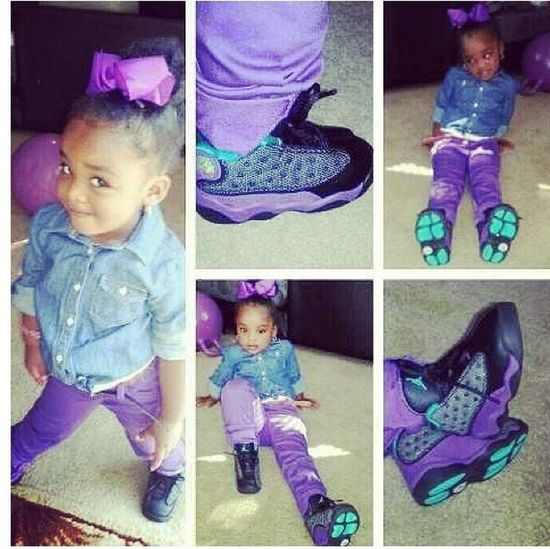 My Nigga Bug was Sexy yesterday for DayCare.! I love my Baby