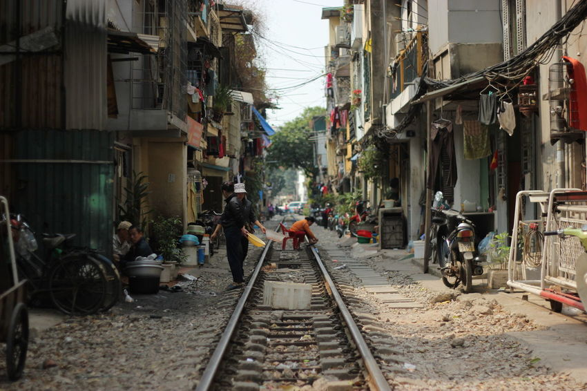 Vietnam The Way Forward Rail Transportation Railroad Track The Secret Spaces