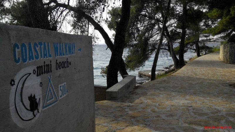 Sea Coastalwalkaway Croatia Primošten