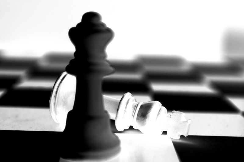 Long Goodbye Chess Checkmate Letgo Itsover Gamesover Theend Finally