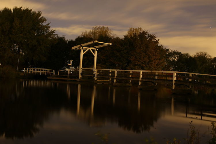 Bridge - Man Made Structure Day Nature No People Outdoors Reflection Sky Tree Water