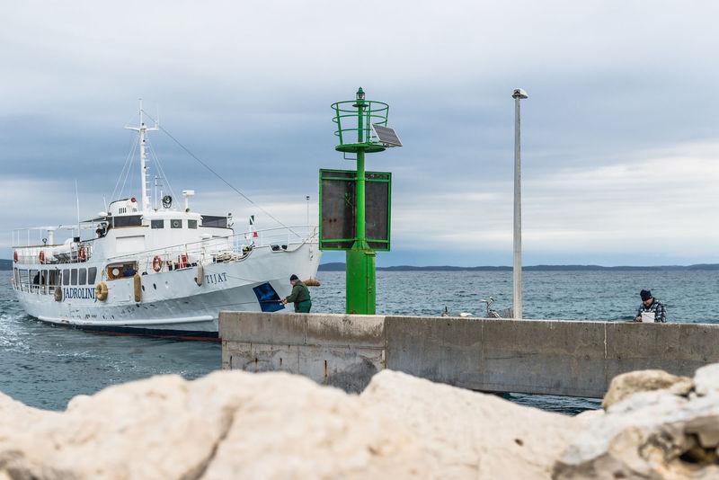 Croatia Horizon Over Water Mali Lošinj My Commute My Commute-2016 EyeEm Photography Awards Pier Sea Sky Susak Water