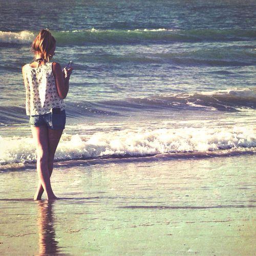 Women Who Inspire You Seaside Woman Non Chalence