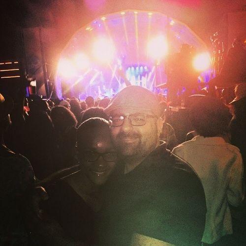 Eu e @selmarosario no Festivalzouk !!!