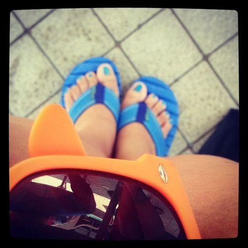 BLUE & ORANGE! ♡♥?❤?? Summerescape2013 JuliElmo Ü
