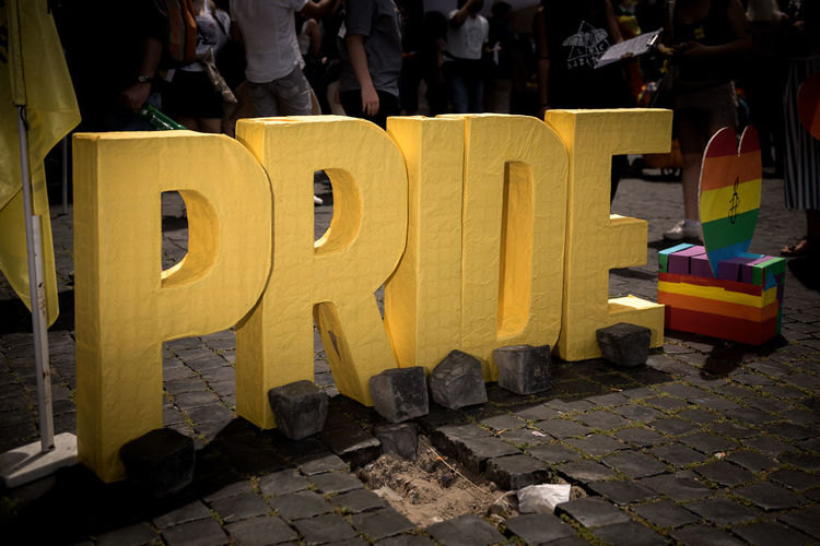 PRIDE The Street Photographer - 2019 EyeEm Awards Street Architecture Streetphotography People Real People City Urban Gay Street Photography Portrait Street Life Sunlight Day Photography Standing Outdoors Yellow Art And Craft Roma Text Lgbt Pride Street Light Gay Pride Flash Photojournalism Group Rainbow Colors Urbanphotography Seat Spot Light  LGBT Rainbows Urban Living Portrait Of A Man  Lifestyles Portrait Photography Pride Parade Lgbt Pride Prideparade In A Row My Best Photo Group Of People Incidental People Low Section NotYourCliche
