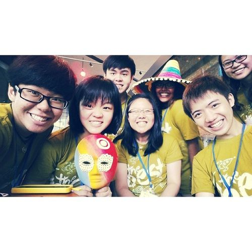 Tpoh TP Open House is over! It has been an awesome 3 days bringing students around GCV, many where really funny and interested! GCV GUIDES! @potatomayo @lun_ah @rukkuuuuu