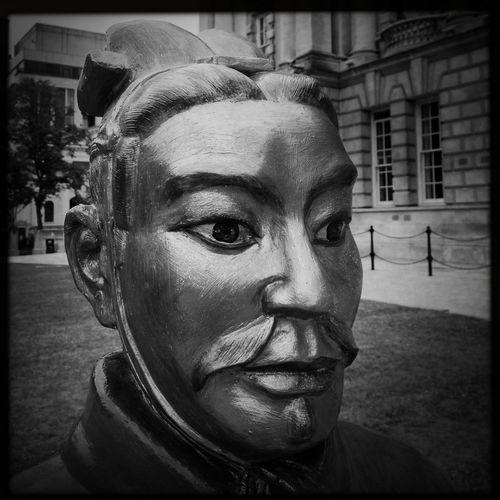Statue Portrait Face
