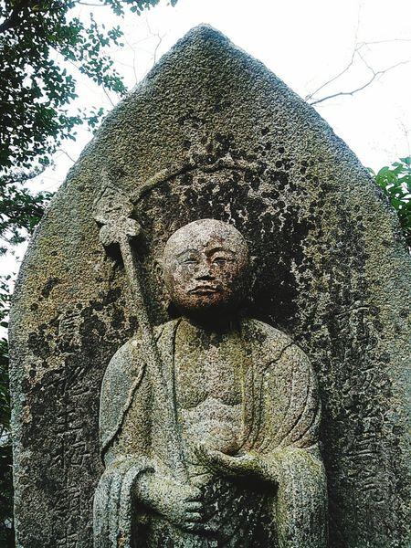 永観堂鐘楼脇のお地蔵様。 京都 Kyoto 永観堂 Eikando 地蔵 お地蔵様 石仏 仏教 Buddha Statue 寺 寺院 Temple