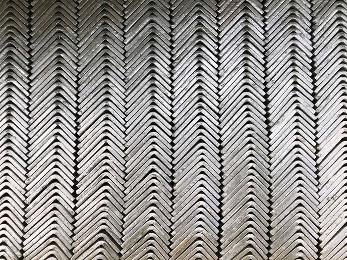 Steel part Stem Industry Part Steel Pattern Backgrounds Full Frame No People Nature Plant Low Angle View Tree In A Row Day Design Striped Outdoors Growth Tall - High Repetition Modern Palm Tree Building Exterior Shape