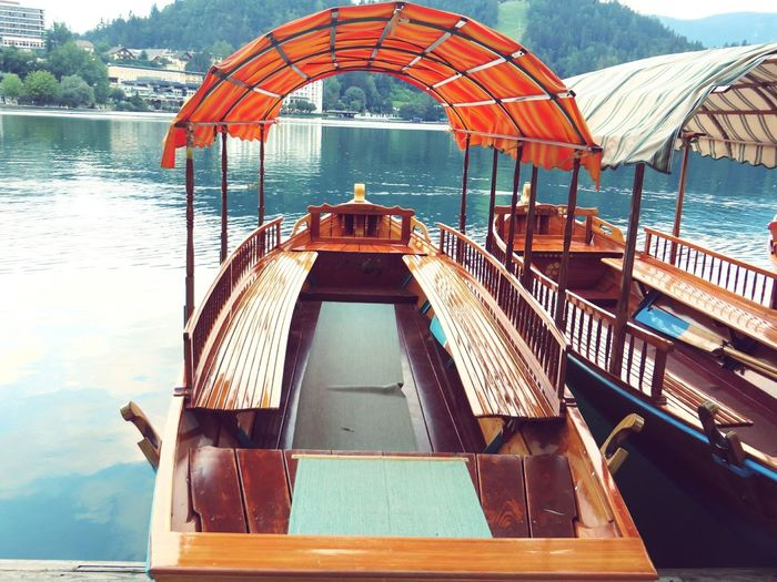 Floating in Slovenia Miles Away Water Daylight Boat Deck Architecture Beauty In Nature Slovenia Travel Destinations Photography Eye4photography  EyeEm Gallery EyeEmBestPics Missions No People Sky Tree Outdoors Miles Away