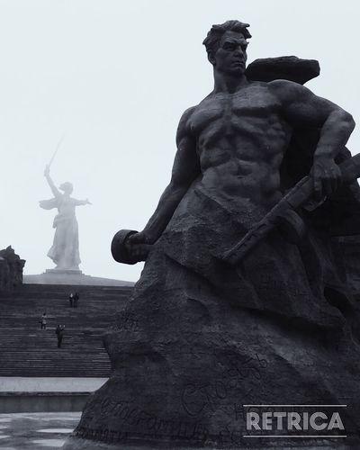 Волгоград Мамаев курган родинамать Сталинград городГерой спонтанные выходные Monument Statue