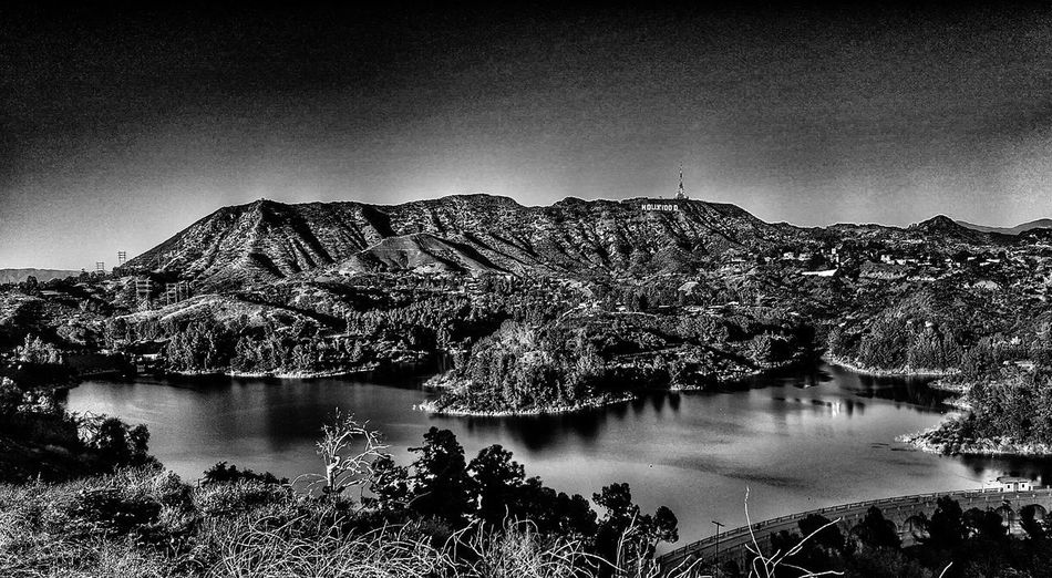 Black & White Hollywood Hollywood Hollywood Sign Hollywoodland Hollywood Hills Black & White Reflection Nightphotography Water Astronomy Lake Sky Galaxy Star Field Star - Space Space And Astronomy Constellation Infinity