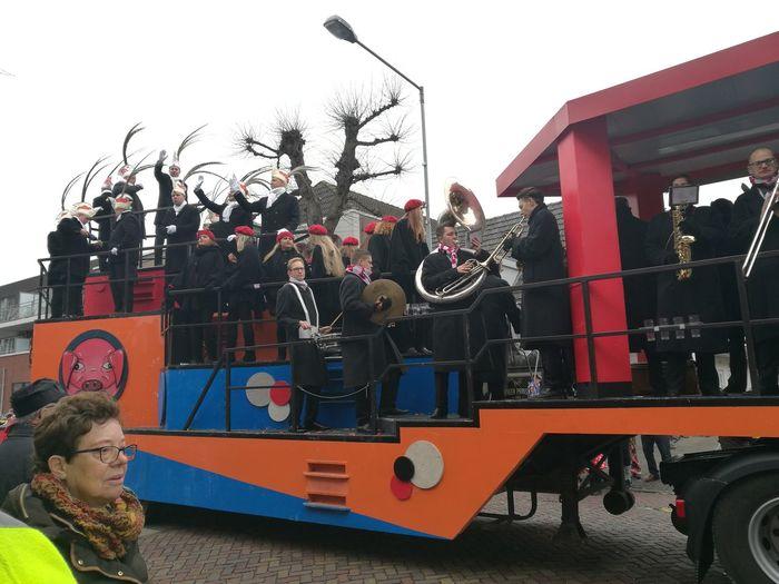 Prinsenwagen van de knoerissen tijdens de carnaval optocht in Uden 2017 First Eyeem Photo