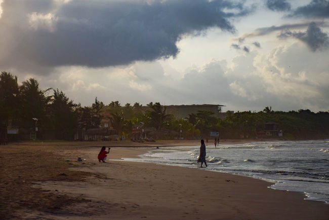 Photography all around you Beach Beauty In Nature Boys Childhood Cloud - Sky Day Extreme Sports Leisure Activity Lifestyles Men Nature Outdoors Palm Tree People Playing Real People Sand Scenics Sea Sky Sunset Tree Vacations Water Wave