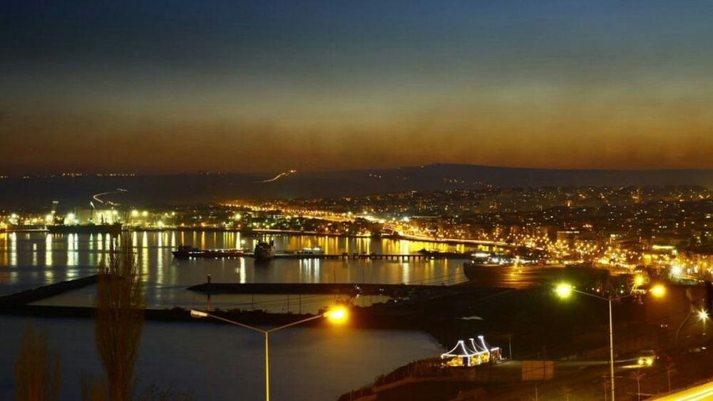 Walking Around People Watching Tekirdağ Sahil Gece Gece Manzara Fotoğrafçılık Liman