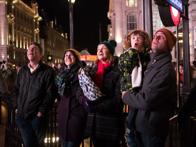 Expressions of wonder - London Lumiere 2018 EyeEmReady EyeEm Best Shots - People + Portrait Night Friendship Adult People Young Adult Adults Only Young Women