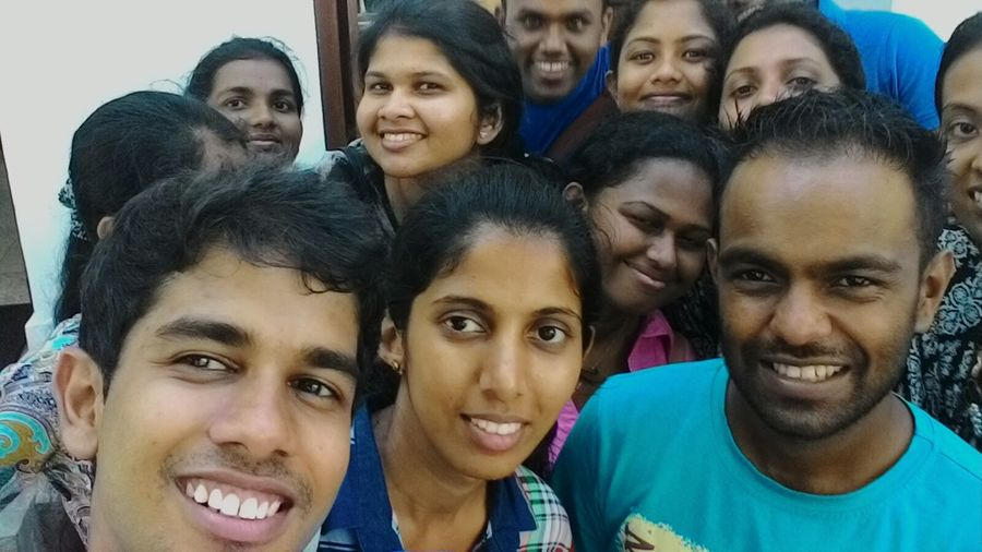 Happy team TTVA during the 1st weekend in our industrial training :) Happypeople happysrilankans First Eyeem Photo