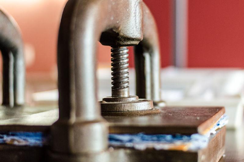Prensado Press Cultural Factory Job Tool Tools Close-up Metal