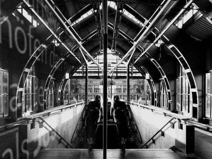 Public Transportation Architecture Travel Built Structure Transportation Rail Transportation Indoors  Incidental People Mode Of Transportation Train