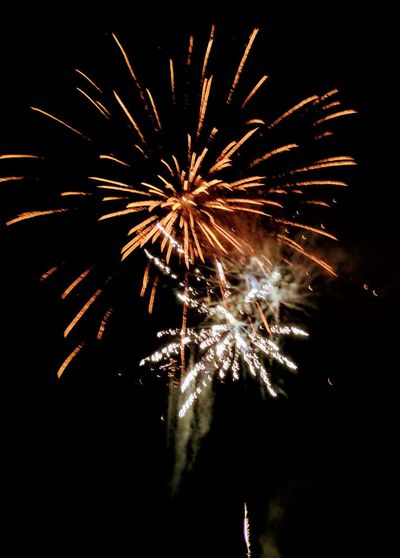 EyeEm Selects Firework Display Celebration Firework - Man Made Object Exploding Arts Culture And Entertainment Night Sparks Long Exposure Low Angle View Event Motion Glowing Multi Colored Blurred Motion Sky No People Celebration Event Outdoors Illuminated Sparkler