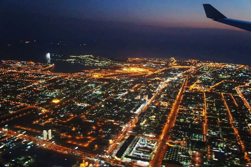Flying Above The Dubai