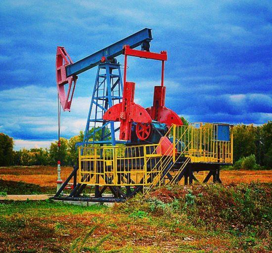 Pumps Oil Petrolium Pumps Petrolium Russia Bashkiria Bashkortostan Colors Colours