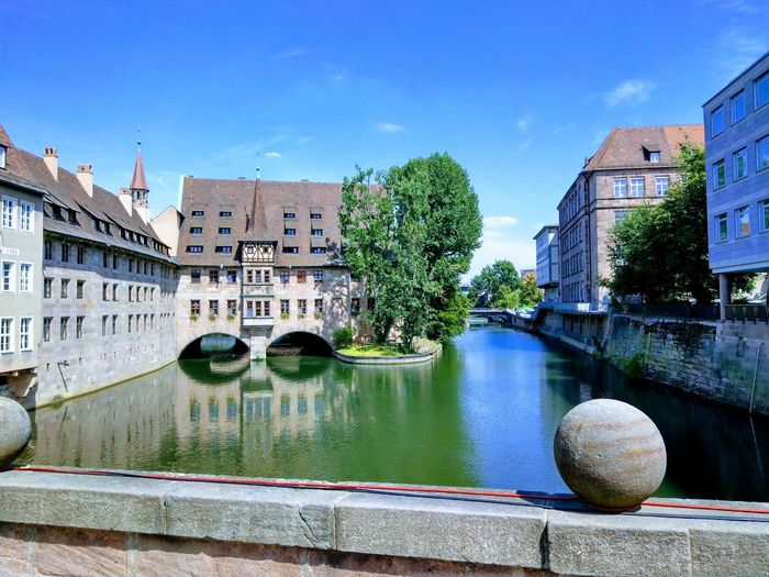 Nürnberg Architecture River Riverside Mypointofview My Point Of View River Arch Bridge Bridge - Man Made Structure Standing Water