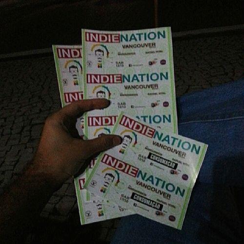 Amanhã tem mais uma edição de sucesso da IndieNation no @orbitabar... Vamonessa ? Indie Rock party