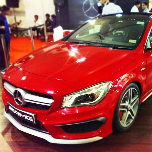 Mercedes -Benz Cla 45 AMG autocar performance show