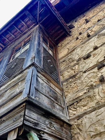 İbradı Güncesi-Fsn® EyeEm Best Shots Voyager Gezgin Seyyah Vintage Village Oldstyle Nature Düğmelievler Woodenhouse Wood - Material Built Structure Architecture Building Exterior Low Angle View No People Outdoors Day