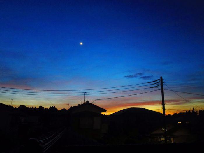 おはようございます。 Canon S120 Morning Morning Glow Moon おはよう