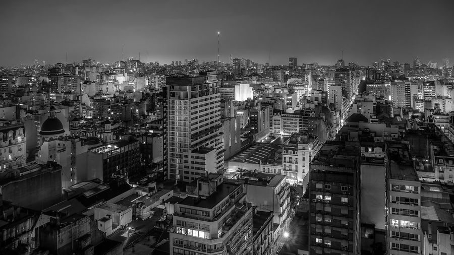 Architecture Buenos Aires, Argentina  Building Exterior Building Story Built Structure City City Life Cityscape Crowded Development Growth Illuminated Long Exposure Modern Night Office Building Outdoors Skyscraper Tall - High Tower Travel Destinations Urban Skyline Wide Wide Angle Wide Shot