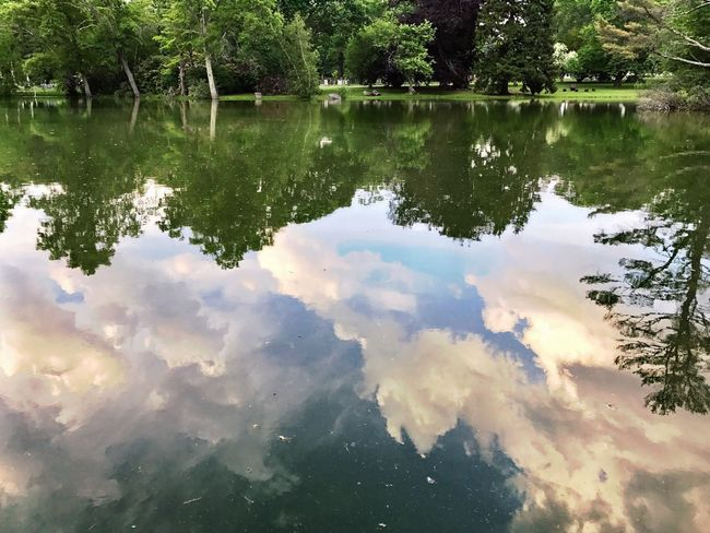 Reflection Water Lake Nature Sky Waterandsky Clouds