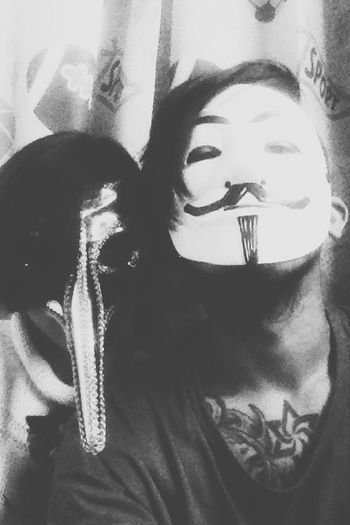 everybody hiding behind a mask Nvrlnd Mask