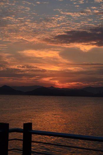 No Filter Sunset Beach Sea