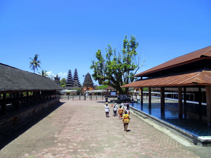 Architecture Bali, Indonesia Clear Sky Pura Religion Spirituality Tourism Travel