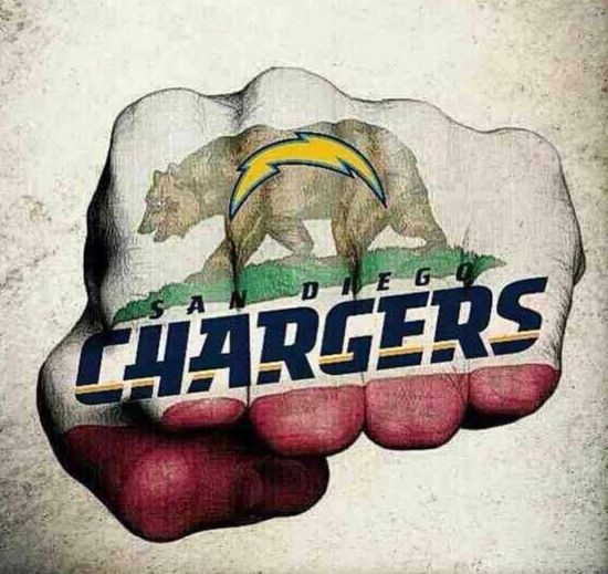 My Team My City My State Go Chargers