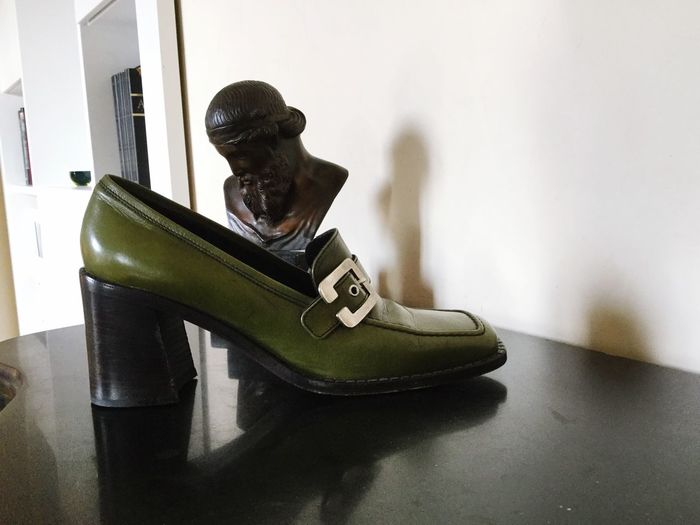 Sócrates EyeEm Selects Shoe Indoors  Home Interior One Person Representation Lifestyles Sculpture House