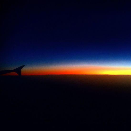 Yeah Flying Clouds And Sunse Sunset_collection Hello World