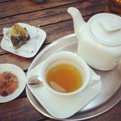 a cup of tea can be refershing as well Peppermint Tea Sunnyday Supershortandspontanousgetawayinberlin hackischehoefe