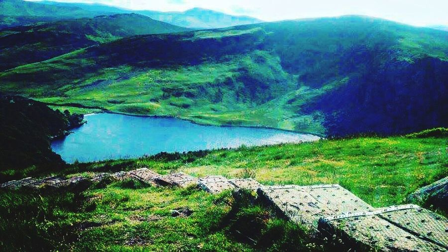 Lough Tay aka Guiness Lake Lough Tay Guiness Lake Wicklow Mountains  Tranquil Scene Mountain Beauty In Nature